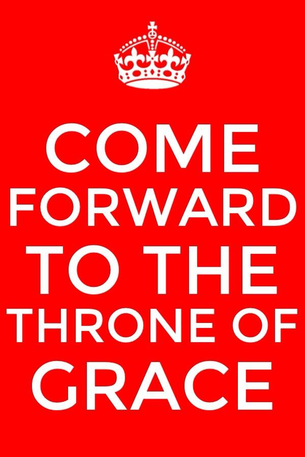 Ministering as a Priest by Coming to the Throne of Grace to Receive Mercy and Find Grace