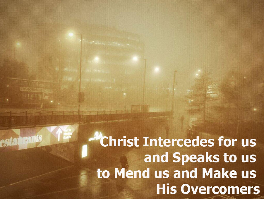 Christ Intercedes for us and Speaks to us to Mend us and Make us ...