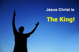 praising Christ as the King in His victory and in His kingdom; praise Christ for His awesome deeds!