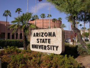 Being a Christian Student on the campus - no matter what, never leave the church life! [picture: Arizona State University, USA)