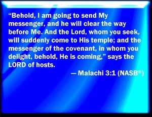The Healing Christ is the Messenger of God and the Angel of the Covenant