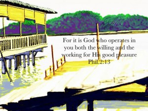 God's Purpose is to Work Himself Into Our Inward Parts to Make Us His Expression