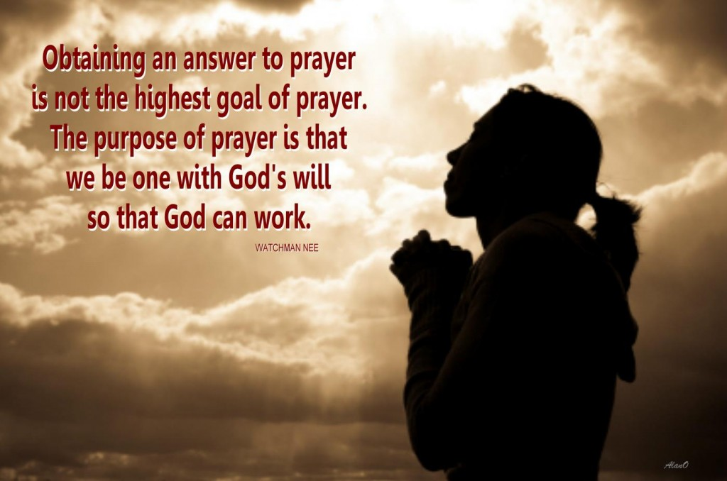 Does God answer prayers?