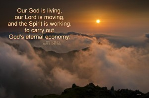 """God's Move on Earth is by the Move of """"the High and Awesome Wheels"""" (Ezek. 1)"""
