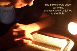 Being Joined to God's Desire Through His Word by Dealing with Our Whole Being