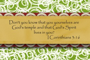 God's Goal in His Eternal Economy is the Temple of God, His Corporate Building