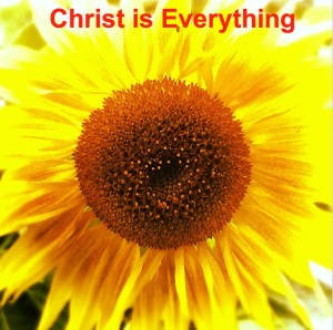 We Worship the Enthroned Christ but we Enjoy the Indwelling Christ as our Everything