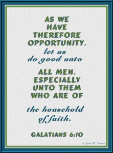 The Church is the Household of the Faith Composed of All the Believers in Christ