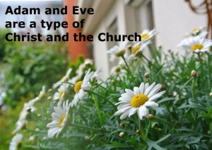 "Adam and Eve are a Type of Christ and the Church: ""It is Not Good for God to Be Alone"""