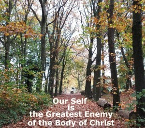 Our Self is the Greatest Enemy of the Body: We Need to Deny it and Live by God's Life