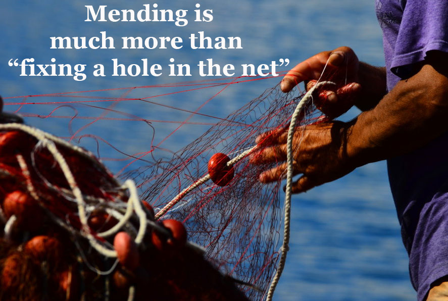 """The Mending Ministry of John - Much More than """"Fixing a Hole"""" in the Fabric of the Church"""