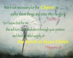 """The Spirit of Jesus Christ who """"was not yet"""" in John 7:39 is Our Bountiful Supply Today!"""