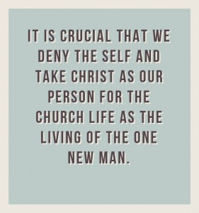 We Need to Deny the Self and Take Christ as our Person for the Church Life Today