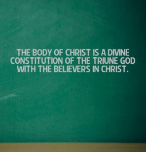 The Body is the Intrinsic Significance of the Church and the Mingling of God with Man