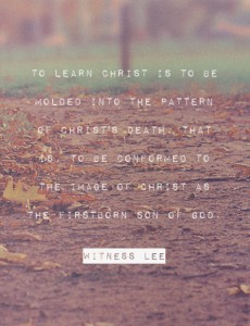 Learning Christ and being Kind and Tenderhearted to One Another for the Church Life