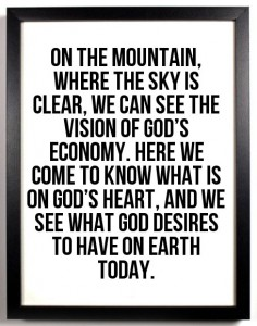 Being Separated unto God and Coming to the Mountain to see a Revelation of God
