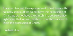 Christ and the New Man as our Clothing is also our Dwelling Place as Priests to God