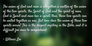 Serving God as Priests by Knowing our Spirit and Living in our Mingled Spirit