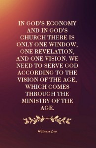 Being Pure in Heart under the Skylight to Receive Light from the Lord in this Age