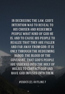 The Meaning of Moses' Enacting the Law and God's Intention in Decreeing the Law