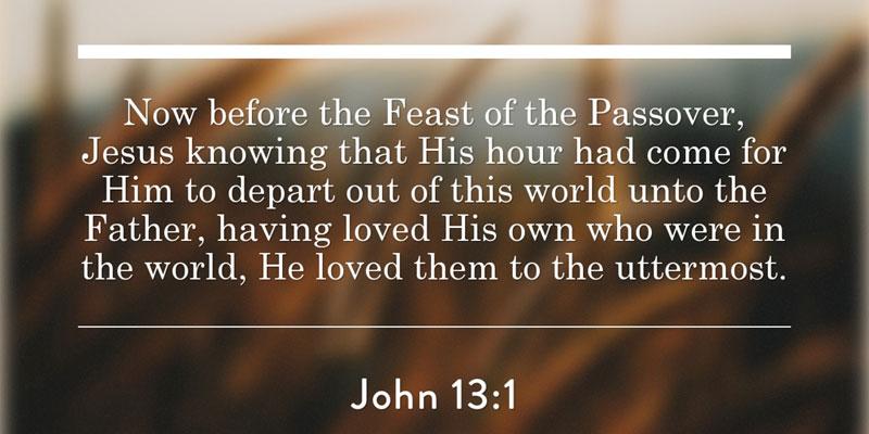 Kuvahaun tulos haulle John 13:1