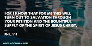 Enjoying the Spirit of Jesus Christ, the Spirit of Life, and the Spirit of Grace