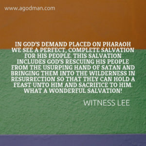 To Serve God is to Hold a Feast to God and Sacrifice to Him by Enjoying Christ