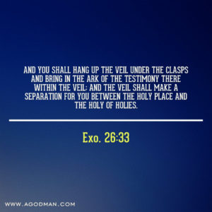 The Spiritual Application of the Veil and the Screen in the Tabernacle in Exo. 26
