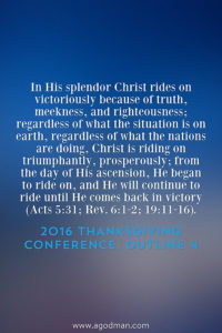 Praising Christ the King in His Fairness and Sweetness, Victory and Majesty (Psa. 45)