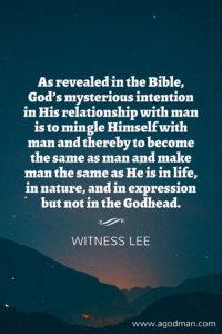 Ezekiel 1 shows us God's Eternal Intention to have the Manifestation of God in Man
