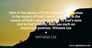 The Living Creatures are the means for God's Manifestation, Move, and Administration