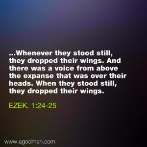 Learning how to Speak for the Lord and how to Stop to Listen to God's Voice daily