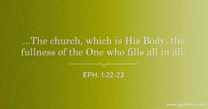 The Church is the Mingling of God and Man, the Enlargement of Christ as the God-man