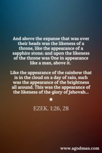 Ezekiel is a Book full of Humanity, showing how much God desires to have a Man!