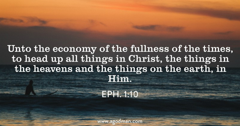 Eph. 1:22 And He subjected all things under His feet and gave Him to be Head over all things to the church.