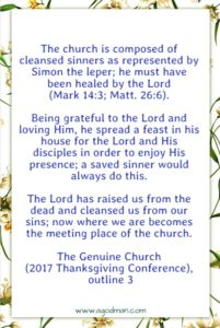 The Issue of Life is the Church Life as a House of Feasting in Christ's Resurrection