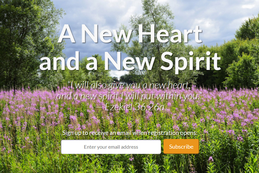 2018 Summer College Training in the USA - A New Heart and a New Spirit.Registration via collegetraining.org.