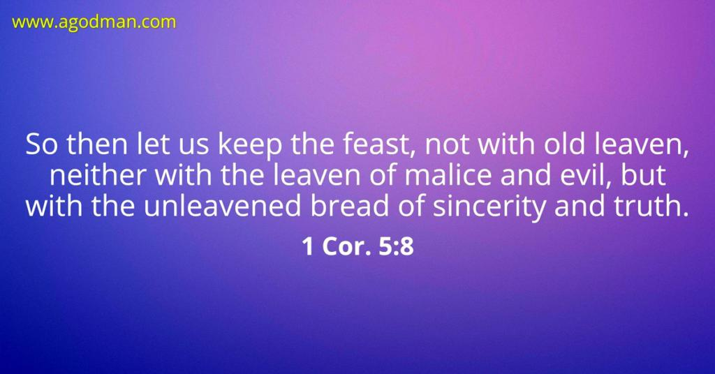 Feasting on Christ as our Sinless Life Supply and Dealing with the
