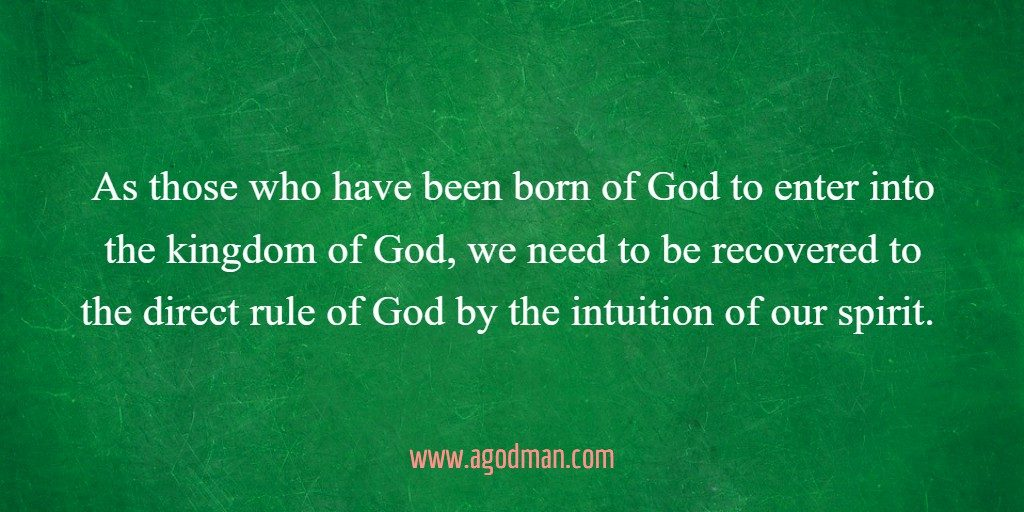 To Be Born of God
